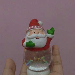 Kado Natal Santa Water Globe