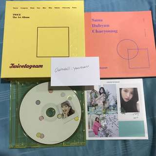 Twice The 1st Album Twicetagram UNSEALED