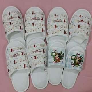 Christmas' Theme Hotel Bedroom Slippers & Bathroom Amenities Set