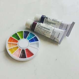 Holbein Artists' Watercolour Sample Wheel