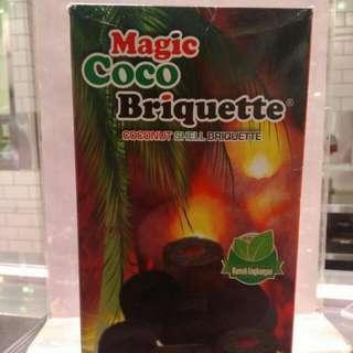 MAGIC COCO BRIQUETTE 6X540