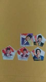Perangko Presiden Indonesia