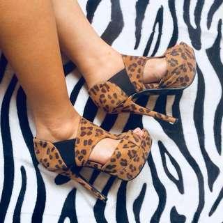 Forever 21 Leopard Heels