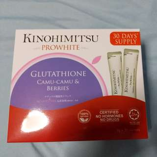 Kinohimitsu ProWhite - 30 days supply (Exp: 12/2019)