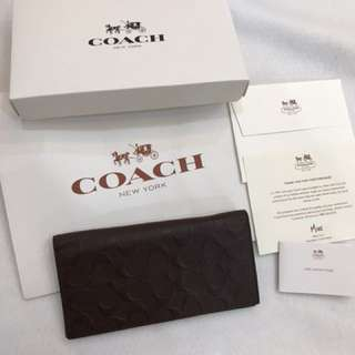 (Ready Stock)Coach Men's Wallet authentic Original Coach