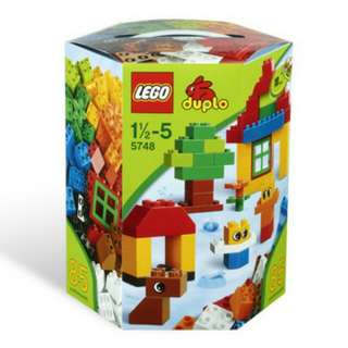 全新Lego 5748 Duplo creative building kit