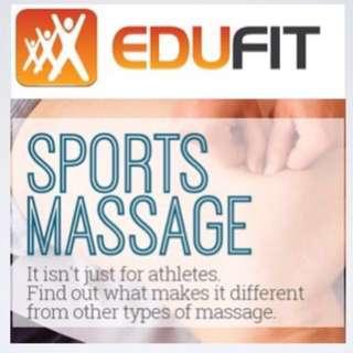 Deep Tissue Sports Massage