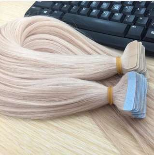 Tape hair extension Russian