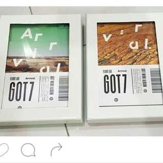 [UNSEALED] GOT7 Flight Log Arrival Never + Ever ver