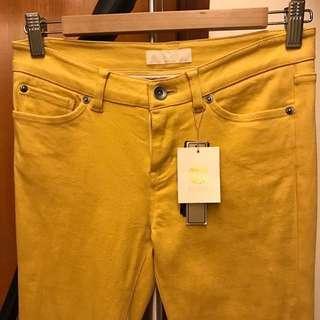 🚚 Le Souk 全新黃色彈性褲 超舒服 今年流行色