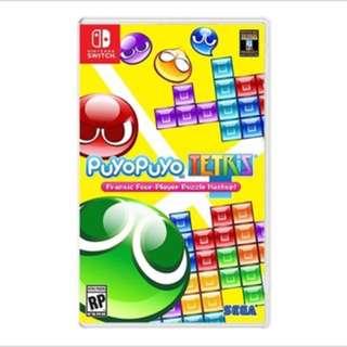 Nintendo Swich Puyo Puyo Tetris