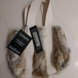 izzue兔毛手袋