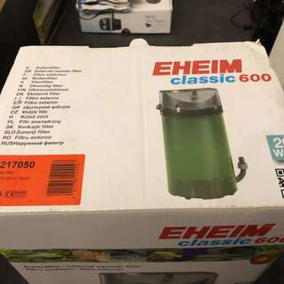 Eheim 2217 w full eheim double taps and Marine pure media