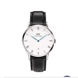 Daniel Wellington classic Sheffield watch with 38mm black band