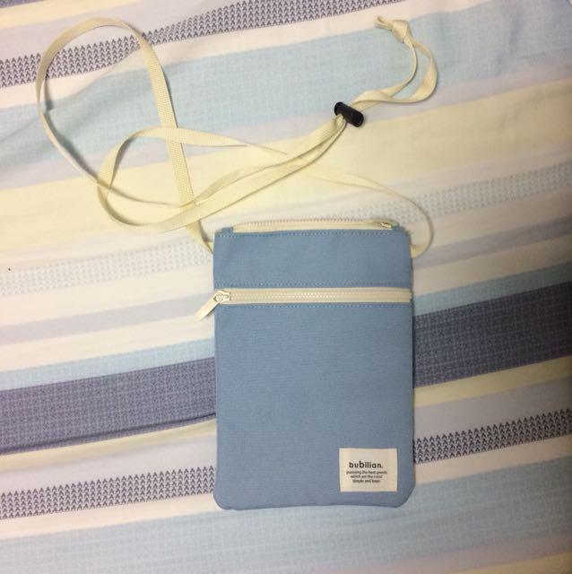 水藍小小包
