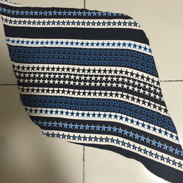 星星雪紡領巾