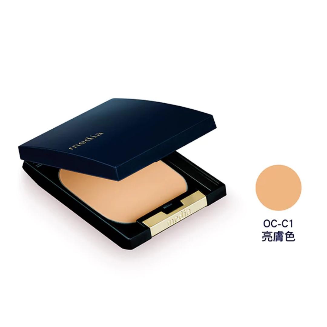全新-媚點 潤透淨緻粉餅EX(亮膚色)11g