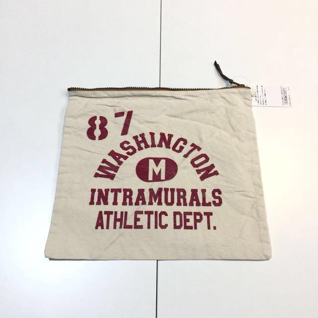 全新 journal standard 日本品牌 手拿包 帆布包 布包 收納袋 重磅 學院 美式 古著 tote 化妝包