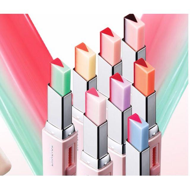 正品❤️ LANEIGE 蘭芝 超放電晶潤雙色唇膏