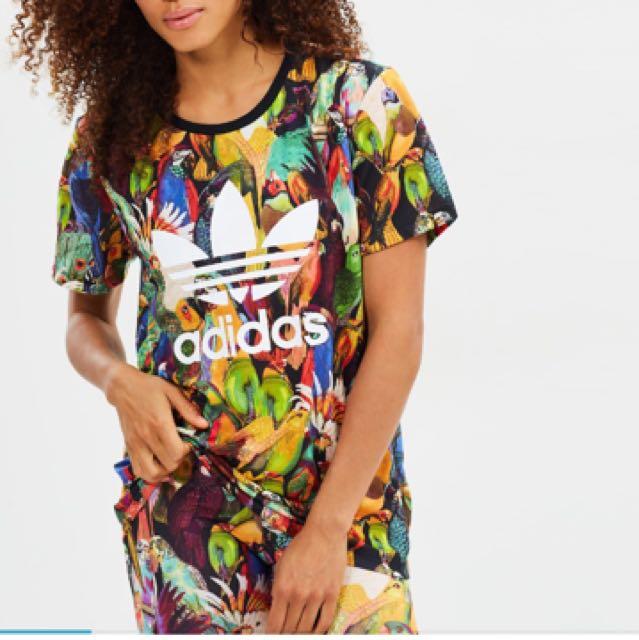 Adidas bird tee