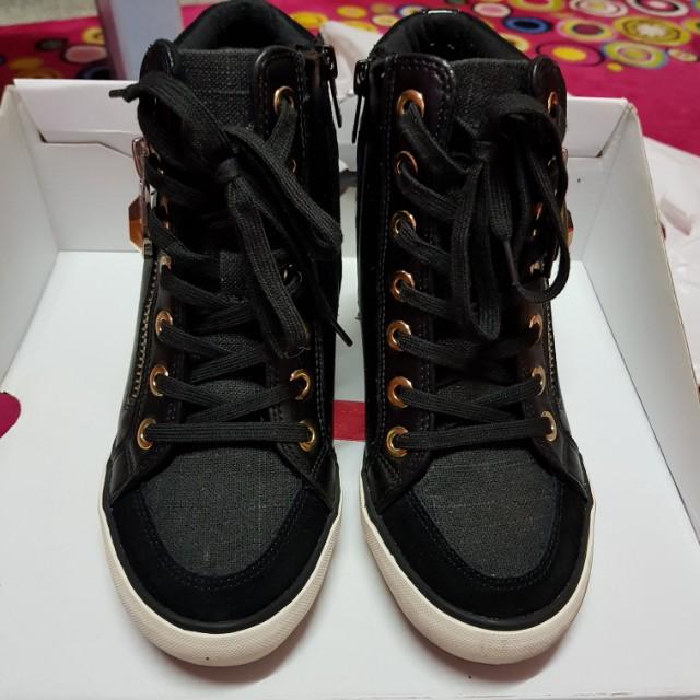Aldo Aalessa Wedge Sneaker Black
