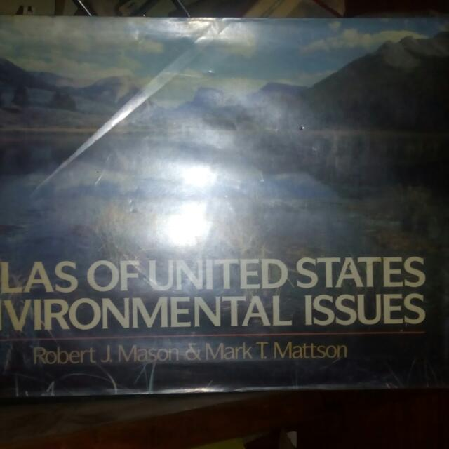 Atlas Of United States Environment Issues