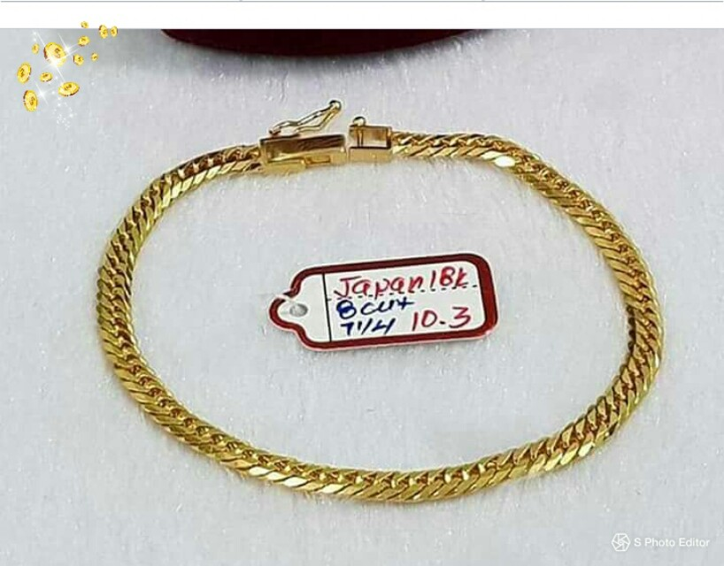 Authentic An Gold 18k P2600 Per Gram Luxury Accessories On Carou
