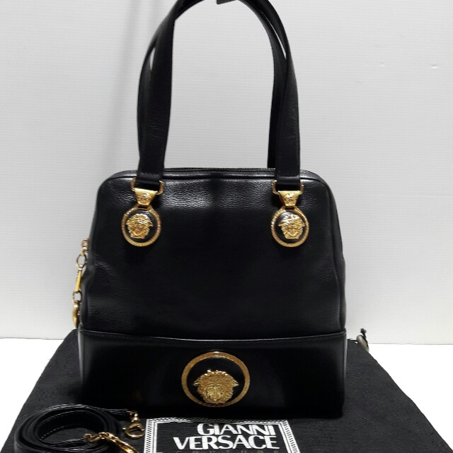 448eea6bfd Authentic Versace (Medusa) Handbag