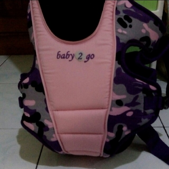Baby 2 go army pink