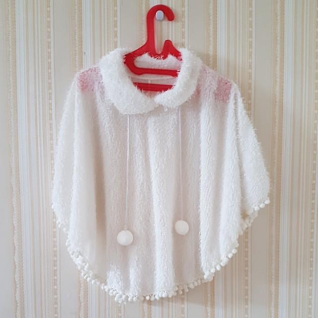 Baju bulu putih