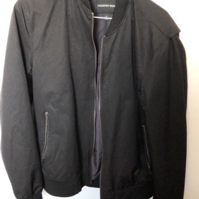 Black Country road bomber jacket