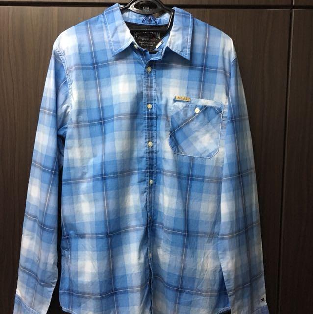 f8ad3331 BNWT Tommg Hilfiger Denim Flannel Shirt, Men's Fashion, Clothes on Carousell