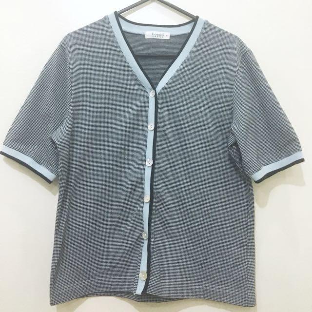 Bossini short-sleeved cardigan