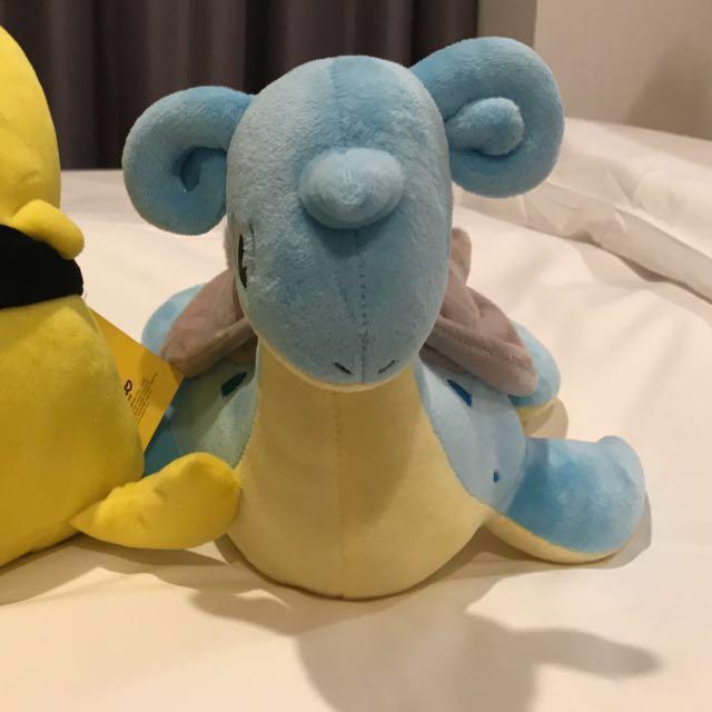 Brand New Lapras Pokemon Plushie Soft Toy