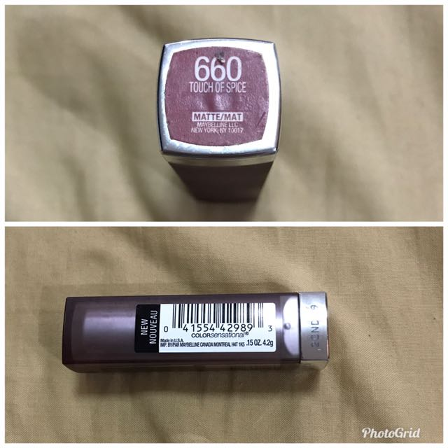 Brand New!! Maybelline - Matte - Touch of spice