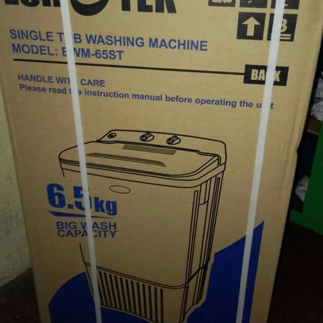 Brandnew Eurotek single tub washing machine