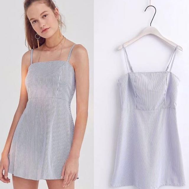 5d99680e7d60e6 Brandy Melville inspired Karla Striped Cami dress, Women's Fashion,  Clothes, Dresses & Skirts on Carousell