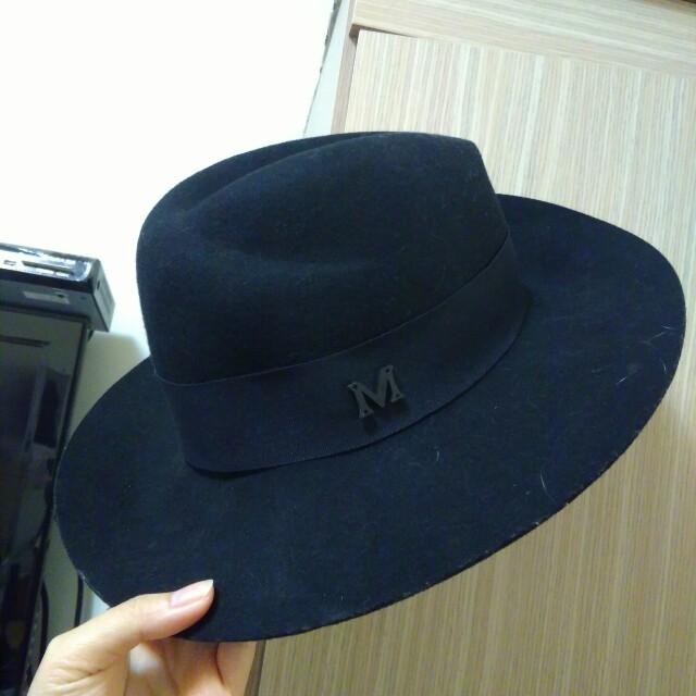 轉賣Candy made M字羊毛紳士帽禮帽寬延帽