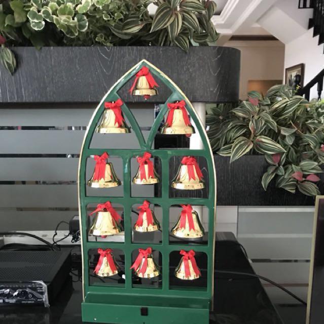 caroling christmas bells on carousell
