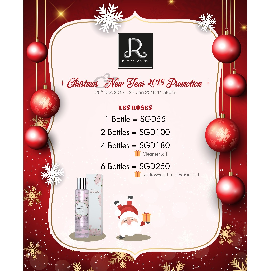 [Christmas & New Year PROMO] Les Roses | Body Firming Serum | 150m | Buy more to get your GIFT 🎁, Health & Beauty, Bath & Body on Carousell