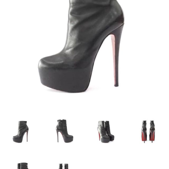 CL leather boots