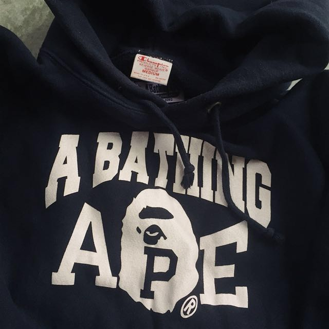 Classic Bathing Ape X Champion Made in USA Sz M