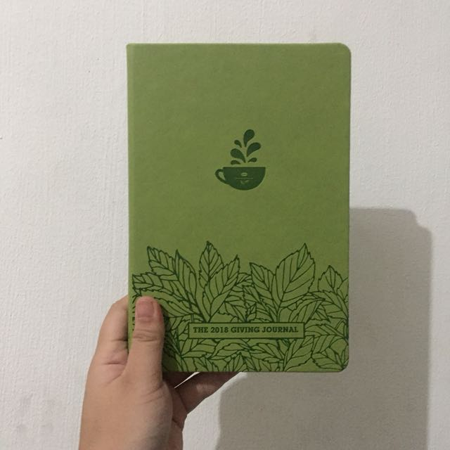 Coffee Bean Planner 2018 (Green)