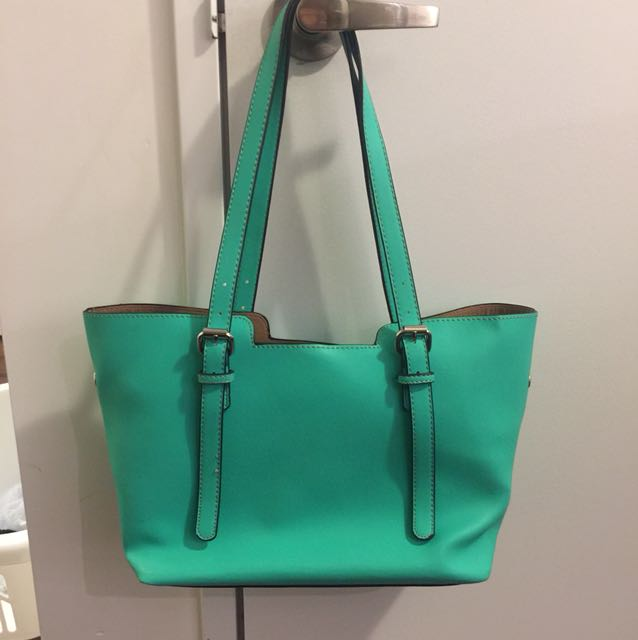 Cute teal purse shoulder purse