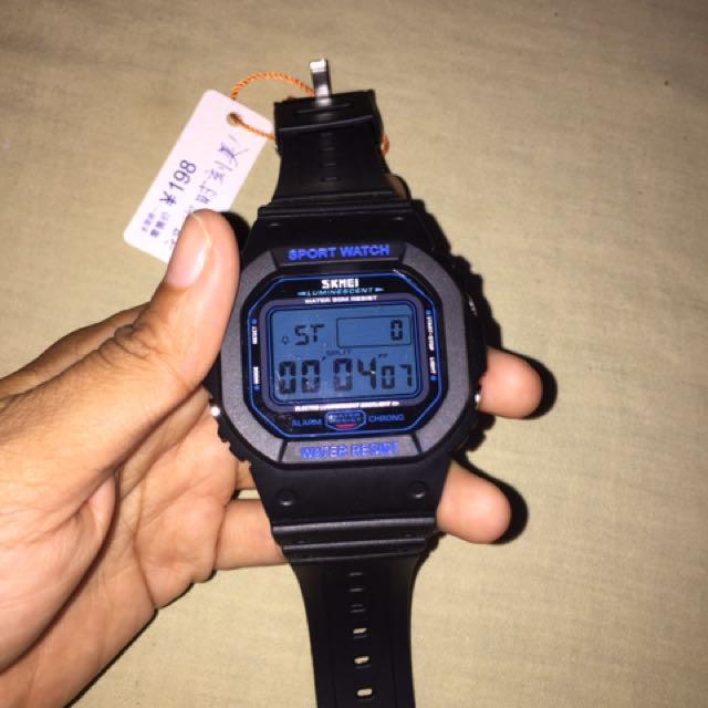 Digital sport watches