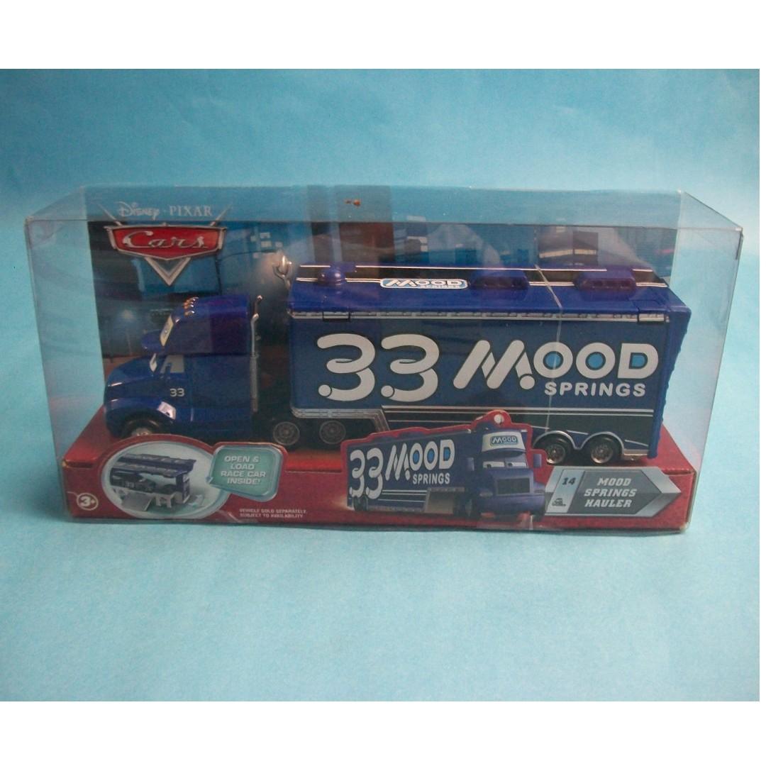 Disney Pixar cars Mood Springs hauler truck piston cup 33