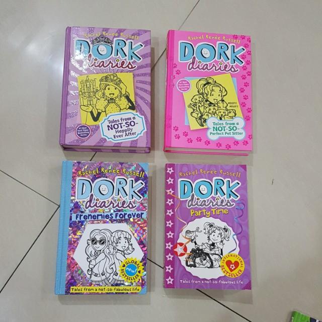 NEW Dork Diaries books