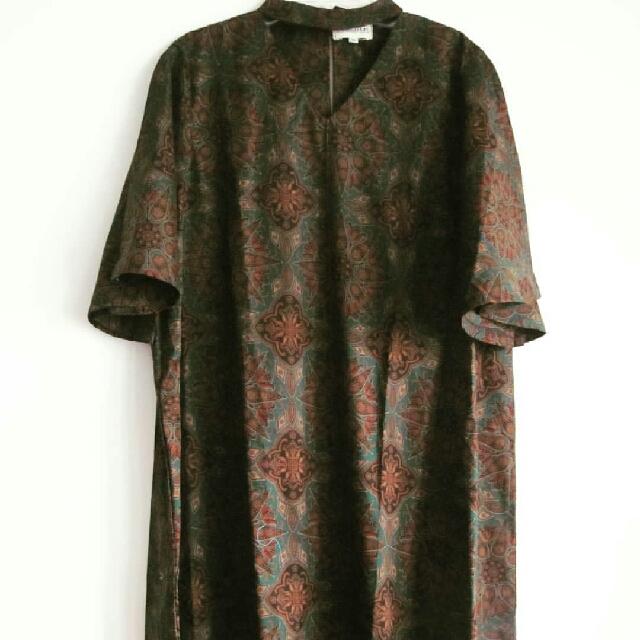 Dress Choker Batik