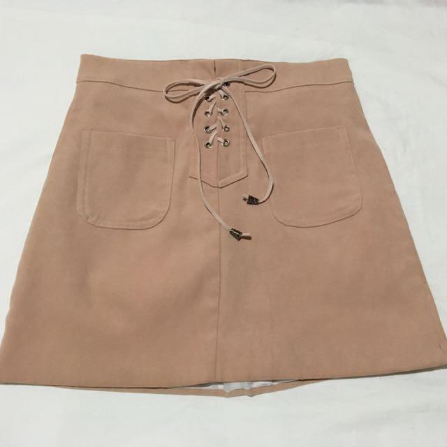 Dust Pink Skirt