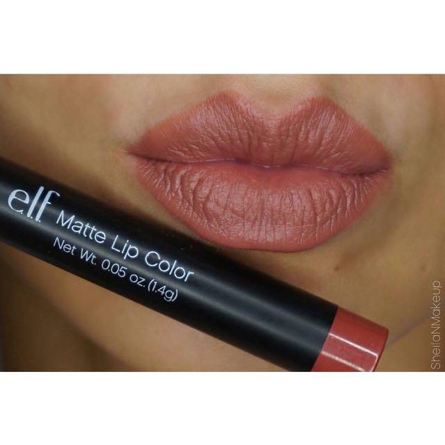 E.L.F Cosmetics Matte Lip Color in Praline
